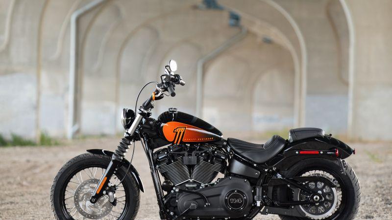 Harley-Davidson Street Bob 114, 2021, Wallpaper