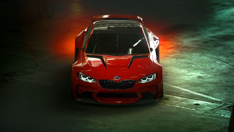 BMW Vision Gran Turismo, Concept cars, Sports cars, Wallpaper
