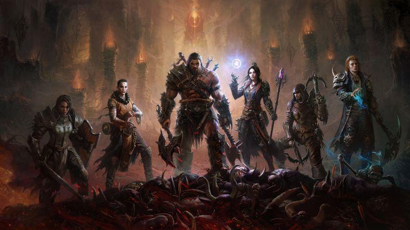 Diablo Immortal, Android games, iOS Games, Wallpaper