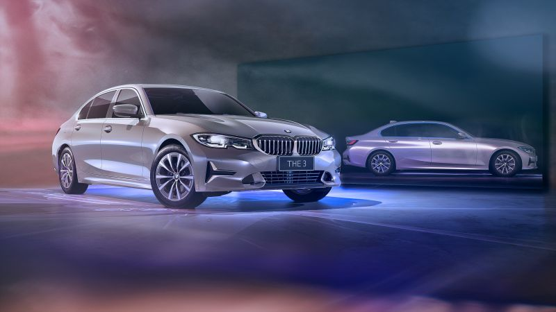 BMW 330Li Luxury Line, BMW 3 Series, 2021, Wallpaper