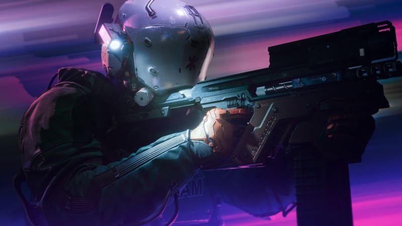 Cyberpunk 2077, PlayStation 4, PC Games, 5K, Wallpaper