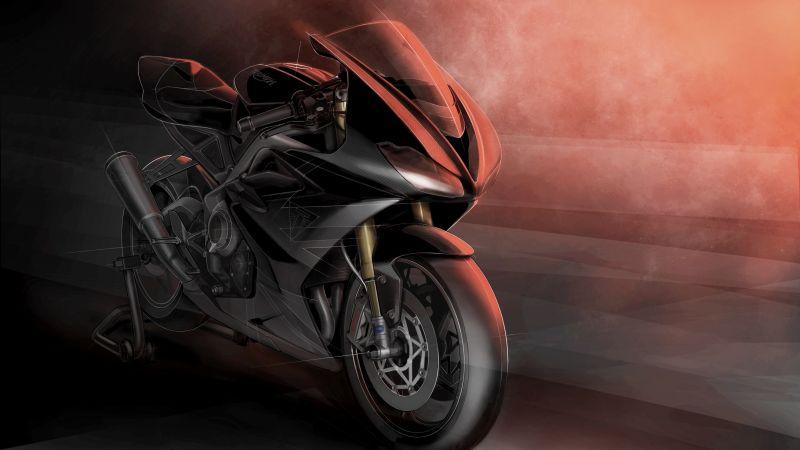 Triumph Daytona 765 Moto2 Limited Edition, Superbikes, Sports bikes, 5K, Wallpaper