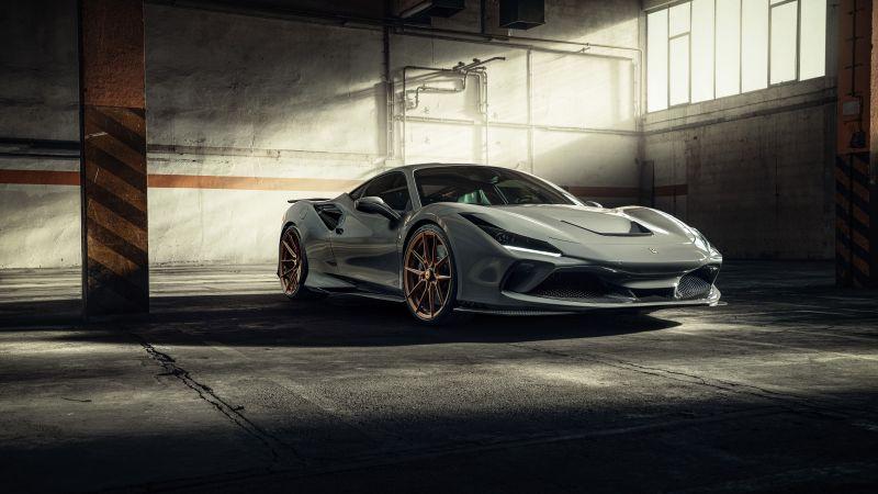 Novitec Ferrari F8 Tributo, 2021, 5K, 8K, Wallpaper