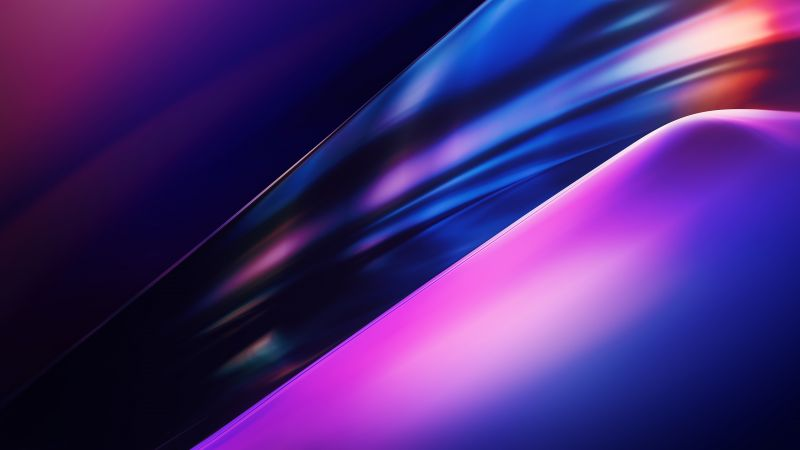 OnePlus 8 Pro, Stock, Colorful, Gradients, Wallpaper