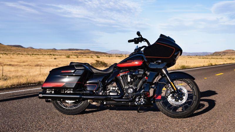 Harley-Davidson CVO, 2021, 5K, Wallpaper