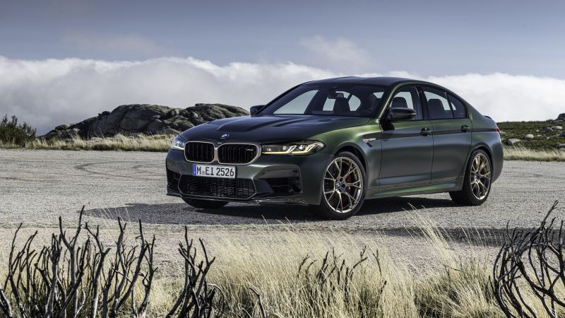 BMW M5 CS, 2021, 5K, Wallpaper