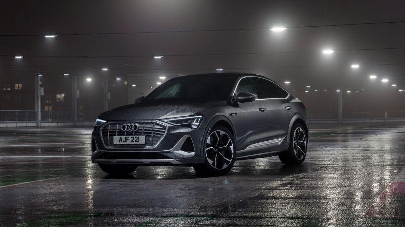 Audi e-tron S Sportback, 2021, 5K, Wallpaper