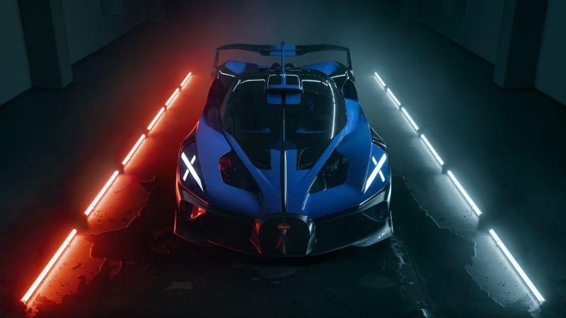 Bugatti Bolide, Hypercars, 2021, 5K, 8K, Wallpaper