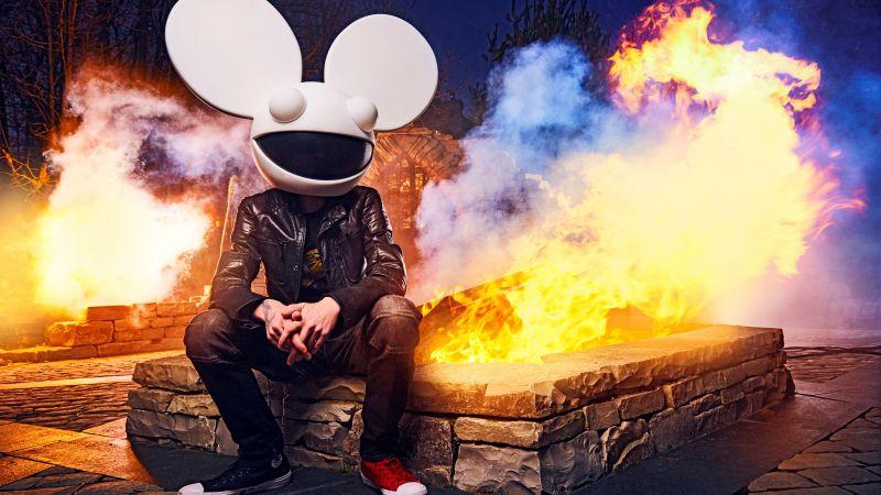 Deadmau5, Musician, DJ, Canadian, 5K, 8K, Wallpaper