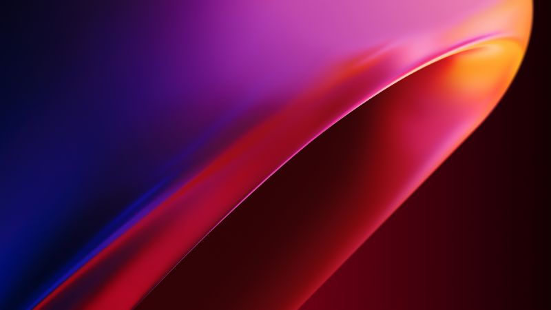 OnePlus 8 Pro, Stock, Colorful, Wallpaper