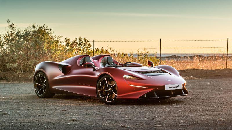 McLaren Elva, 2021, 5K, Wallpaper