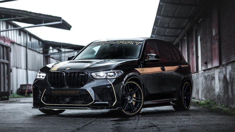 Manhart MHX5 800, BMW X5, Black cars, 5K, Wallpaper