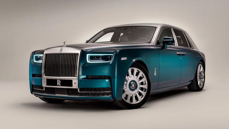 Rolls-Royce Phantom, Iridescent Opulence, 2021, Wallpaper
