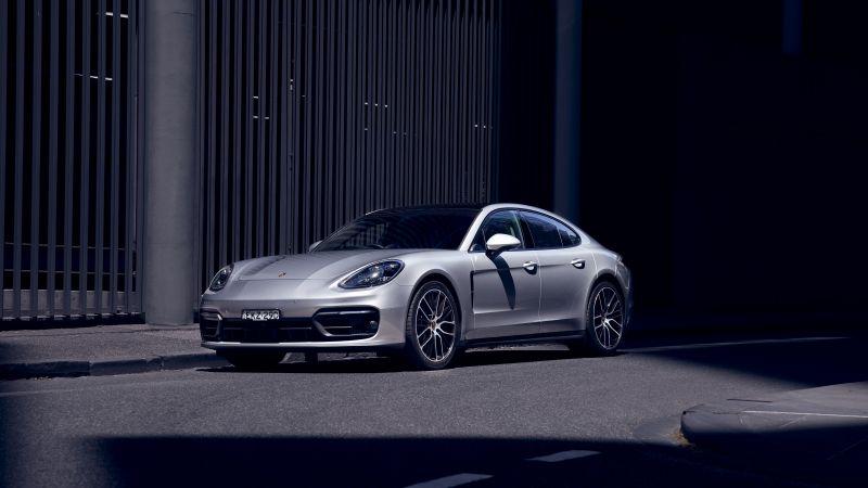Porsche Panamera, 2021, 5K, Wallpaper