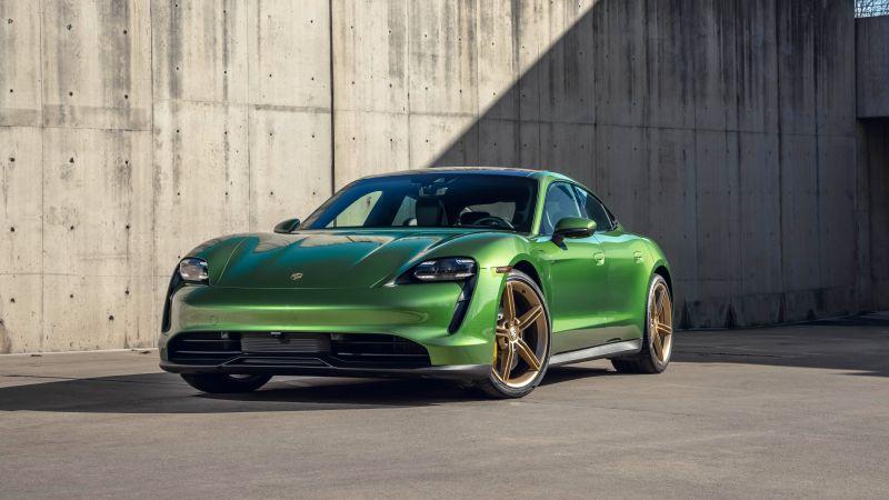 Porsche Taycan 4S, 2021, 5K, 8K, Wallpaper