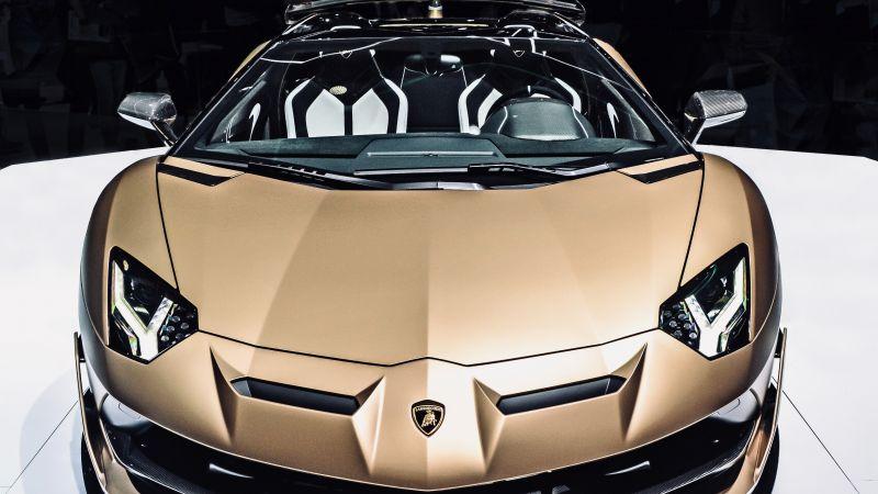 Lamborghini Aventador SVJ Roadster, Supercars, Wallpaper