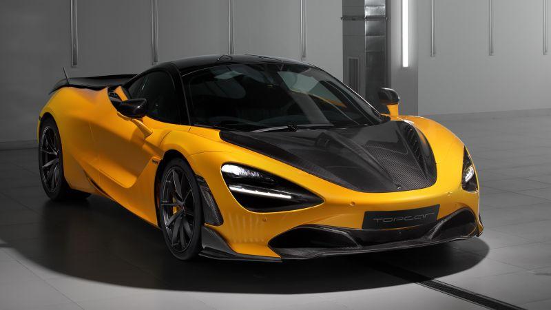 McLaren 720S Fury, TopCar, 2021, 5K, Wallpaper