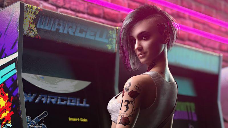 Judy Alvarez, Cyberpunk 2077, 2021 Games, Wallpaper