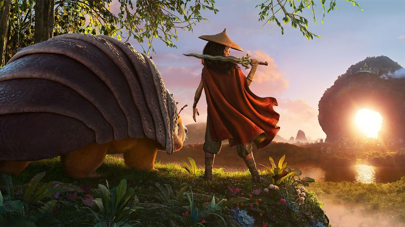 Raya and the Last Dragon, 2021 Movies, Animation, Wallpaper