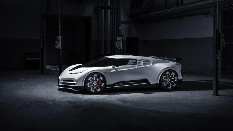 Bugatti Centodieci, Sports cars, Hypercars, 5K, Wallpaper