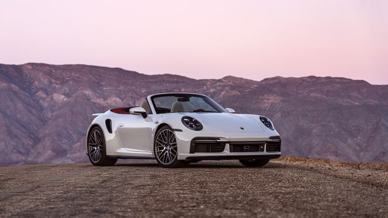 Porsche 911 Turbo Cabriolet, 2021, 5K, 8K, Wallpaper
