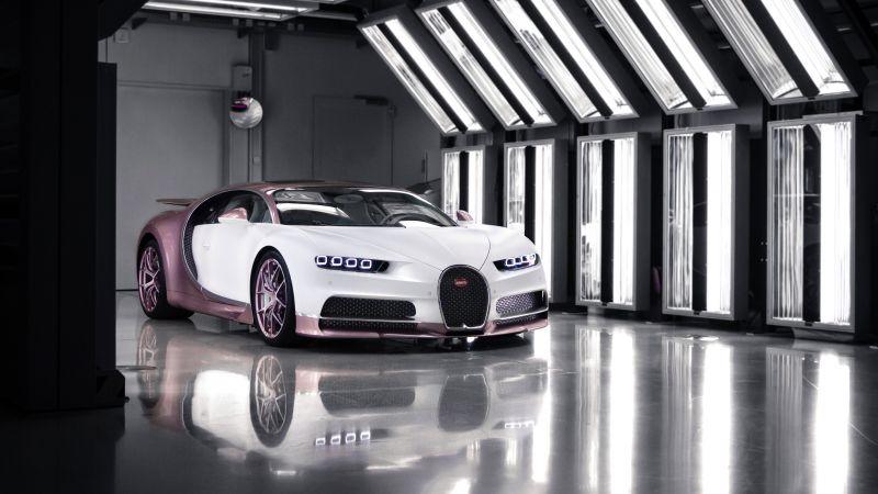 Bugatti Chiron Sport Alice, 2021, Wallpaper