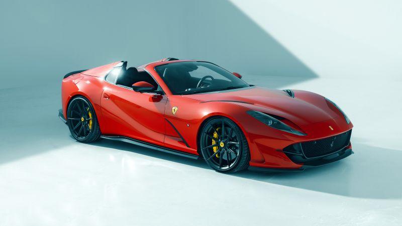 Novitec Ferrari 812 GTS, 2021, 5K, 8K, Wallpaper