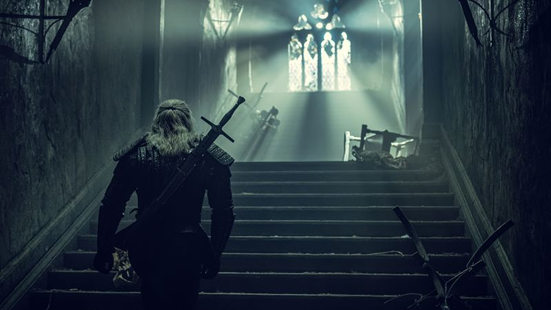 The Witcher, TV series, Henry Cavill, Wallpaper