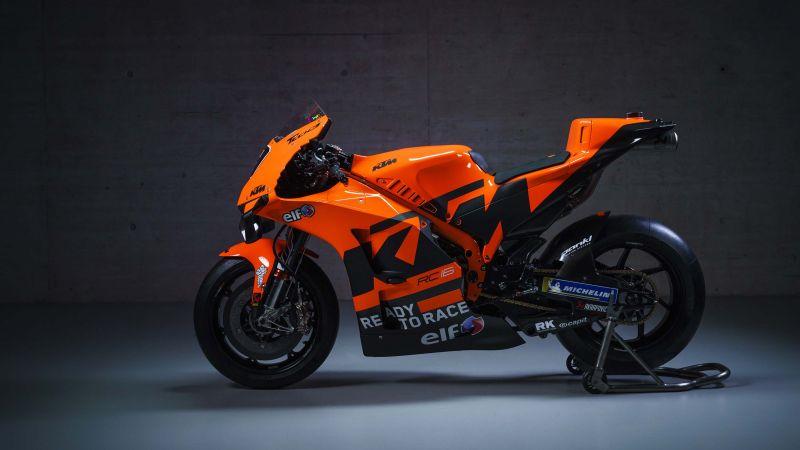 KTM RC16, MotoGP bikes, 2021, Wallpaper