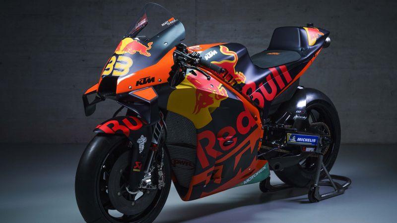 KTM RC16, MotoGP bikes, Red Bull Racing, 2021, Wallpaper