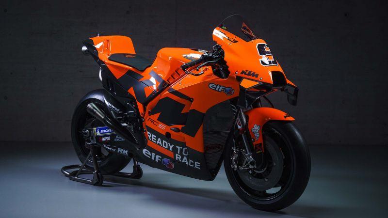 KTM RC16, MotoGP bikes, Tech3, 2021, Wallpaper