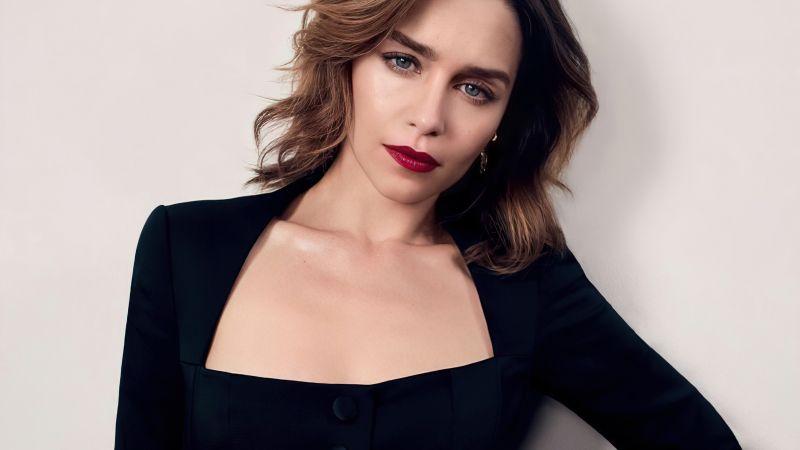 Emilia Clarke, English actress, 5K, Wallpaper