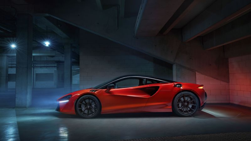 McLaren Artura, Supercars, PHEV cars, 2022, 5K, 8K, Wallpaper