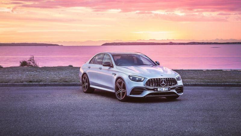 Mercedes-AMG E 63 S 4MATIC+, 2021, Wallpaper
