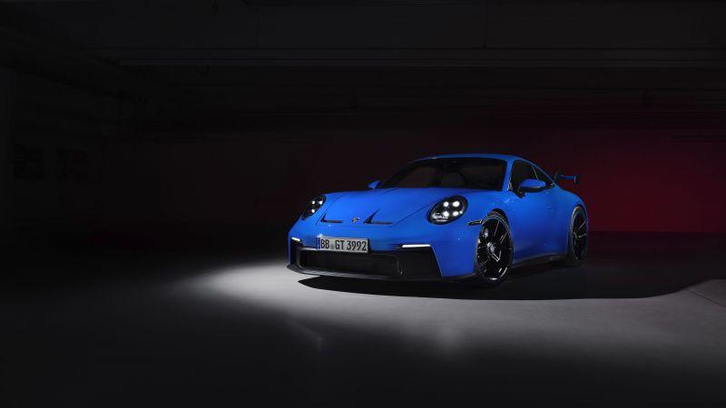Porsche 911 GT3, 2021, Wallpaper