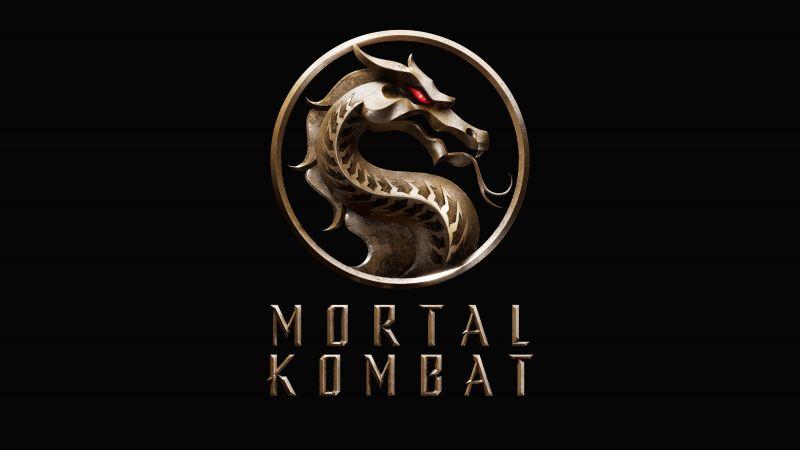 Mortal Kombat, 2021 Movies, Black background, AMOLED, 5K, 8K, Wallpaper