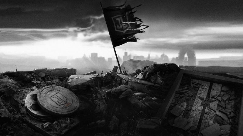 Zack Snyder's Justice League, DC Comics, Dark, 2021 Movies, Wallpaper