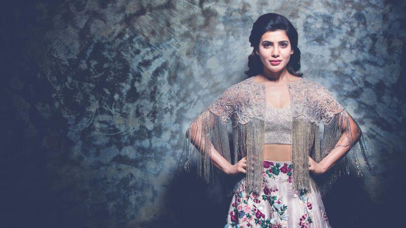 Samantha, Indian actress, Beautiful actress, Wallpaper