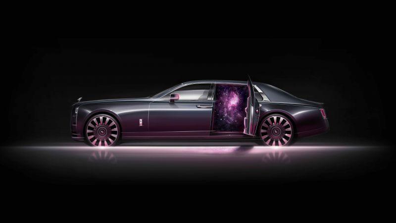 Rolls-Royce Phantom EWB Tempus Collection, AMOLED, 2021, 5K, 8K, 10K, Wallpaper