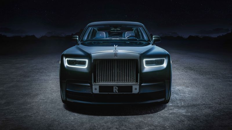 Rolls-Royce Phantom EWB Tempus Collection, 2021, 5K, 8K, 10K, Wallpaper
