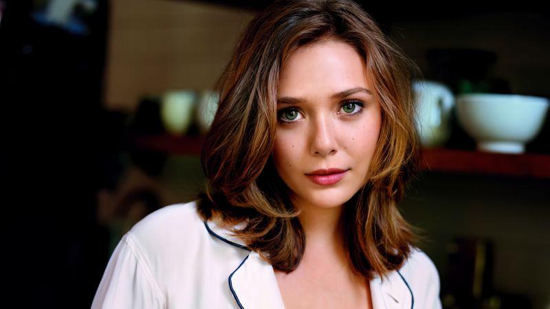 Elizabeth Olsen, American actress, Beautiful actress, 5K, Wallpaper
