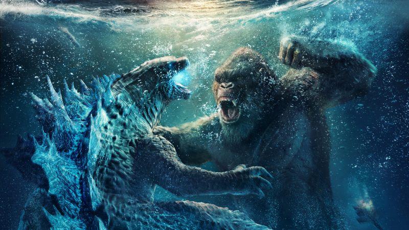 Godzilla vs Kong, 2021 Movies, Wallpaper