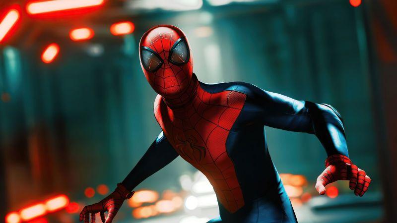 Spider-Man, Marvel Superheroes, Fan Art, Wallpaper