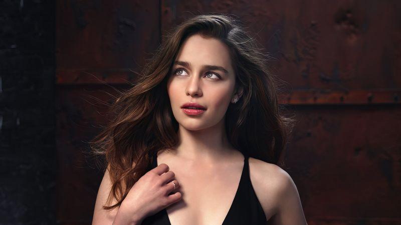 Emilia Clarke, Beautiful actress, 5K, Wallpaper