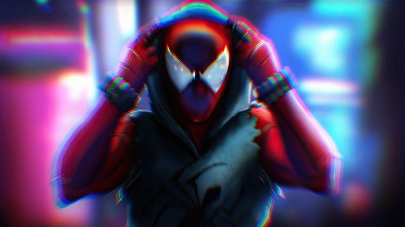 Spider-Man: Miles Morales, Artwork, Wallpaper