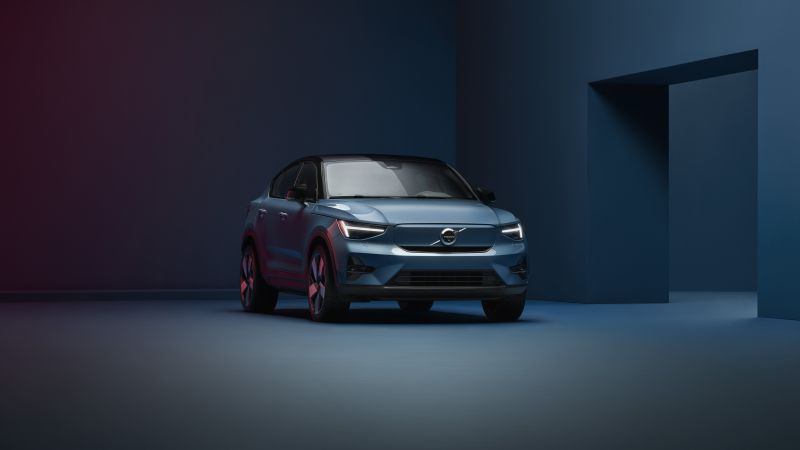 Volvo C40 Recharge, Electric SUV, 2022, 5K, Wallpaper