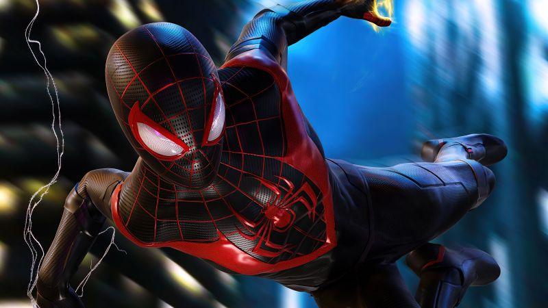 Marvel's Spider-Man: Miles Morales, PlayStation 4, PlayStation 5, 5K, Wallpaper