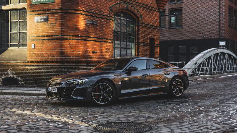 Audi RS e-tron GT, Electric cars, 2021, 5K, Wallpaper