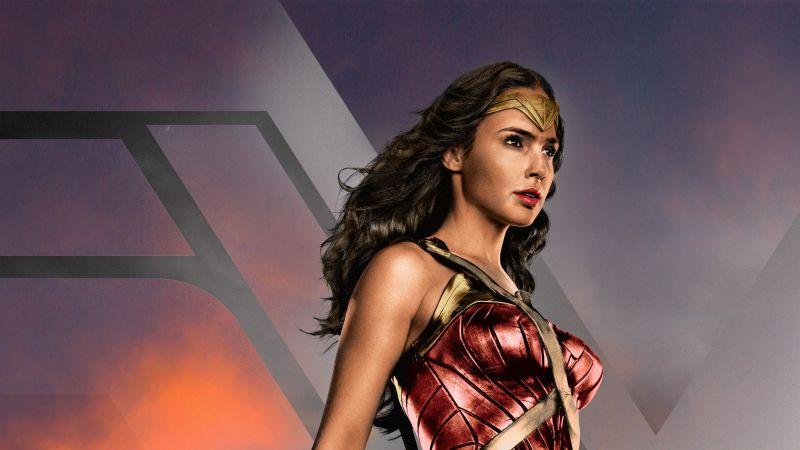 Zack Snyder's Justice League, 2021 Movies, Wonder Woman, Diana Prince, Gal Gadot, DC Comics, DC Superheroes, Wallpaper