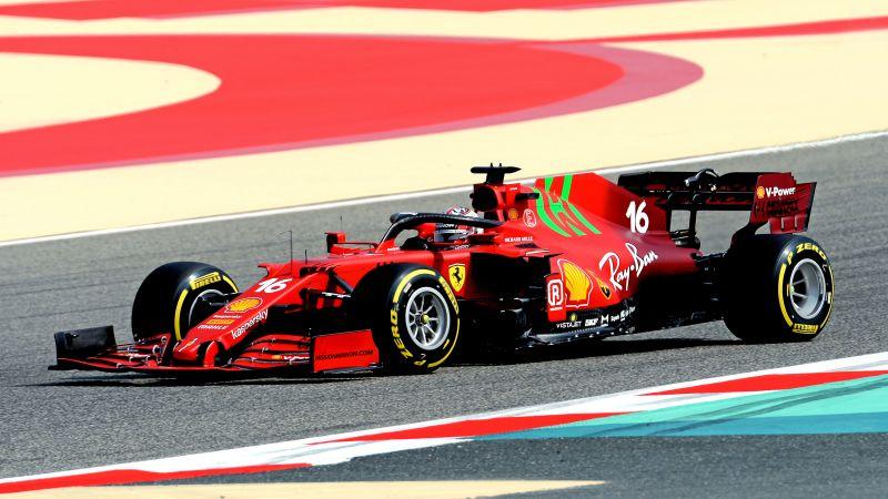 Ferrari SF21, F1 2021, F1 Cars, 2021 Formula One World Championship, Racing cars, Race track, 2021, Wallpaper